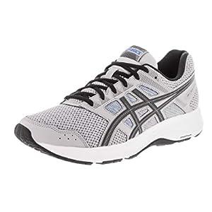ASICS Men's Gel-Contend 5 Running Shoes, 12, MID Grey/Black