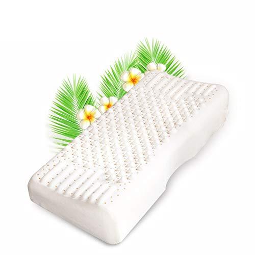 Latex Kissen Pellet Massage Cervical Kissen atmungsaktive Naturlatex Kissen Thai Rohstoff Super Comfort Full Latex festes Kissen