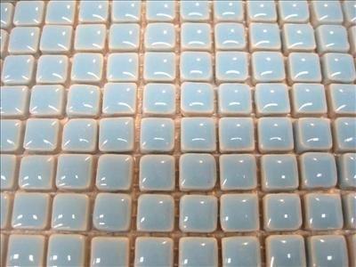 Piastrelle Mosaico in ceramica smaltata.10x 10mm piastrelle. Blue Diamond. 196Piastrelle Confezione.