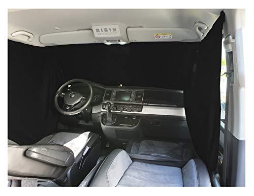 Frontscheibe Sonnenschutz Camping Führerhaus Gardinen Vorhang kompatibel mit VW Caddy 3 ab 2003-2014 FB: F_SW
