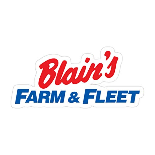 creamrinhz (3 PCs/Pack) Blain`S Farm and Fleet Merchandise 3x4 Inch Die-Cut Stickers Decals for Laptop Window Car Bumper Helmet Water Bottle