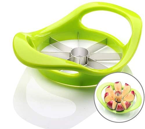 Obstentkerner Fruit Corers Fruit Divider Edelstahl Robustes Metall Apfelschneider Fruit Slicer Ergonomischer Griff Kitchen Pitting Tool