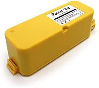 Upgraded 4000mAh Replacement Battery for iRobot Roomba 400 Series 400 405 410 415 416 440 4000 4100 4105 4110 4130 4150 41...