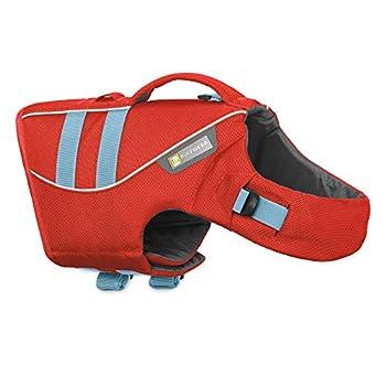 RUFFWEAR Gilet de Sauvetage pour Chien, Chien de très Grande Taille, Ajustement sur Mesure, Taille : XL, Rouge (Sockeye Red), Float Coat