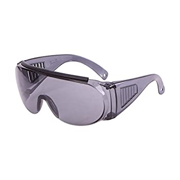 Allen Company Over Shooting & Safety Glasses for Use with Prescription Mirror Smoke