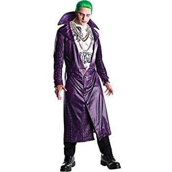 Rubie s mens Suicide Squad Deluxe Joker Costume Party Supplies As Shown Standard US