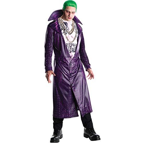 Rubie's - Disfraz del Guasón de Suicide Squad para hombre, Estándar, Multicolor