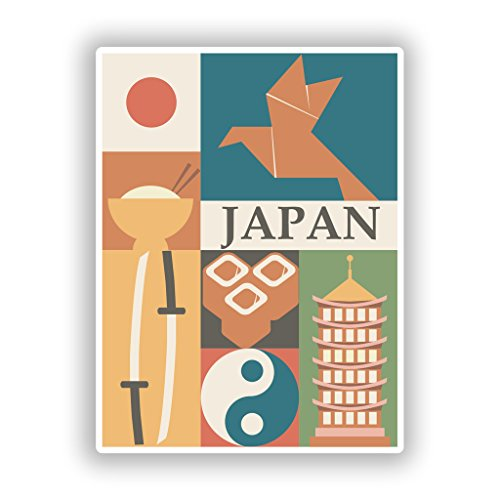 Lot de 2 autocollants en vinyle japonais # 10105 10cm/100mm Wide Transparent