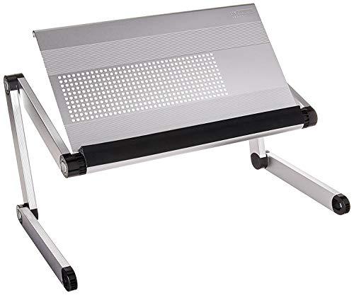 Uncaged Ergonomics altezza regolabile supporto angolo desktop Book stand, argento (rs-s)