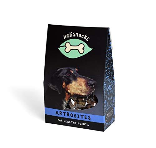 Holisnacks® Premium ARTROBITES für Hunde 100g – mit Rinderleber – ca.130Stück - Naturrein - Nahrungsergänzung | Knochen und fitte Gelenke