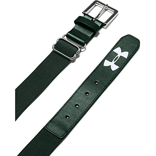 Under Armour Boys' Baseball Belt , Forest Green (301)/Forest Green , One Size Fits All