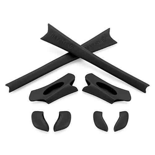 Revant MaxGrip® Kit manchon/support de nez pour Oakley Flak Jacket - Black