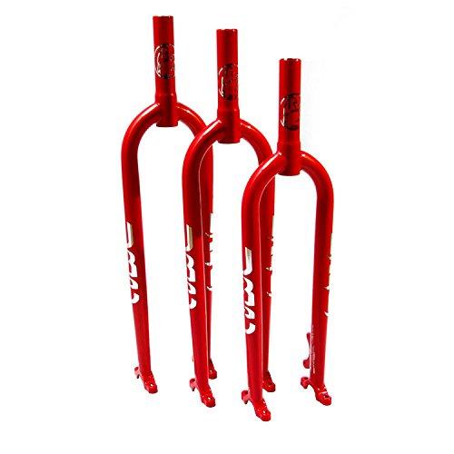 URC Gabel Muni Stahl CrMo für den Einrad (Rot, Large)