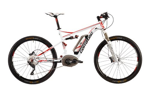 Corratec Fahrrad E Power TWC Perfocrui, Weiß/Rot/Schwarz, 54, BK17115-0054