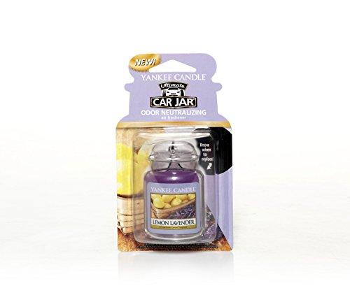 Yankee Candle Car Jar Ultimate, Lemon Lavender,1220907,Purple