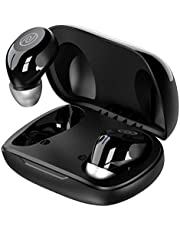 Noise Shots NEO (Upgraded with Faster Pairing and Type C Charging) Truly Wireless Earbuds with 18 Hours Total Playtime (Jet Black)
