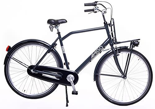 Amigo Forest - Vélo de ville pour homme 28' - Dérailleur Shimano 3 vitesses - Convient à partir...