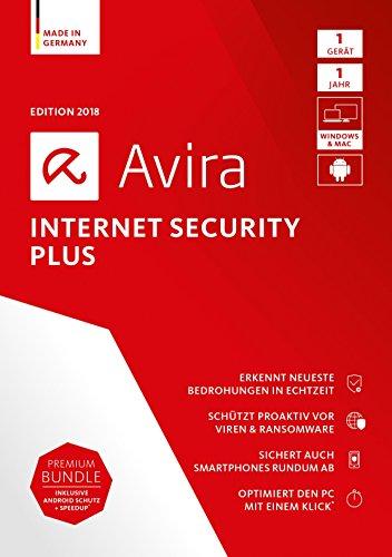 Avira Internet Security Plus 2018 - 1 Gerät