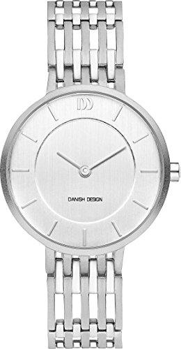 Danish Design Damen Analog Quarz Uhr mit Titan Armband DZ120593