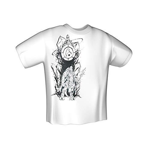 Jinx World of Warcraft Draenei Race T-Shirt White (L)