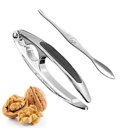 Happylohas nussknacker walnüsse, nussknacker nüsse Werkzeug, walnüsse nussöffner, walnuss Clips, nuss-Knacker, Nutcracker Tool, walnussknacker ideal für die meisten Arten von nüssen (001)