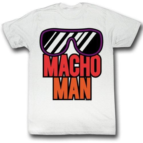 Macho Man WWF More Macho Randy Savage Adult T-Shirt tee