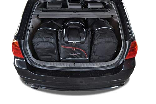KJUST Dedizierte Taschen 4 STK Set kompatibel mit BMW 3 Touring E91 2005 - 2013