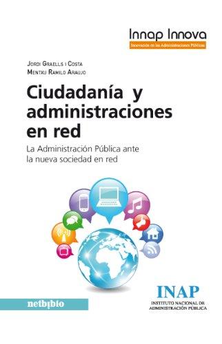 Llibre 'Ciudadanía y administraciones en red' de Jordi Graells / Mentxu Ramilo