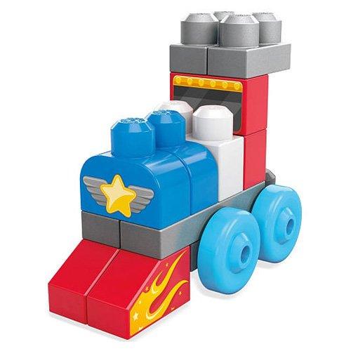 Mattel Mega Bloks First Builders CNH09 - Thementasche - Lustige Fahrzeuge, Bau- und Konstruktionsspielzeug