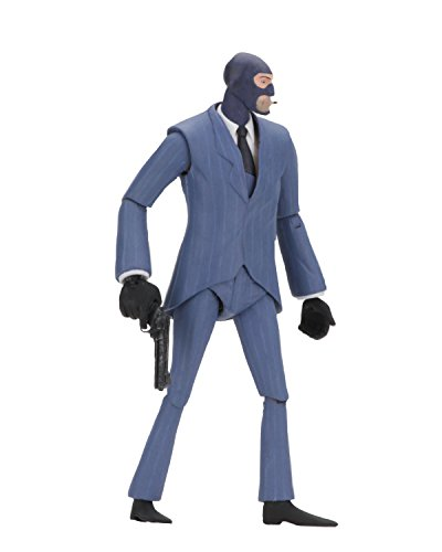 NECA - Team Fortress 2 - 7' Scale Action Figure - Series 3.5 BLU Spy