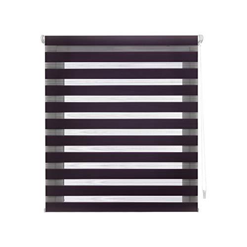 Blindecor Indus dubbel rolgordijn dag/nacht 42 x 180 cm violet