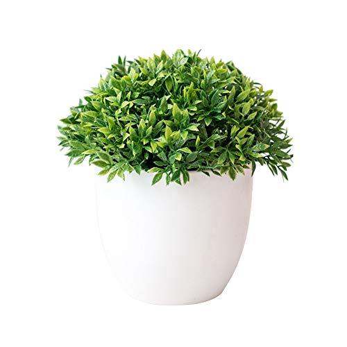 BOENTA Plants Artificiales Plantas Artificiales Decorativas De Planta Cuarto de baño Plantas Artificial de Las Plantas de Interior Planta Artificial