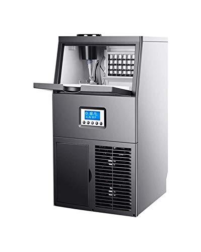 LJJOO Máquina de fabricación de hielo comercial, 220V Operación totalmente automática Máquina de fabricación de hielo, hielo/hielo Máquina de fabricación de hielo con hielo con hielo/hielo 220 Máq