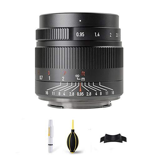 7artisans 35mm f0.95 Sony E-マウント カメラレンズ 大きい口径APS-C 広角 カメラ レンズ A3000、A5000、A5100、A5100L、A6000、A6000L、A6300、A6400、A6500、A7、 A7II、 A7III、A9、A7RII 、A7RIII、NEX-3、NEX-3n、NEX-3r、NEX-C3、NEX-F3k、NEX-5、NEX-5T、NEX-5R、NEX-5C、NEX-7に適しています