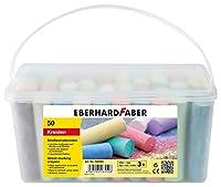 Eberhard Faber 526550 Straßenmalkreide, 50er Eimer