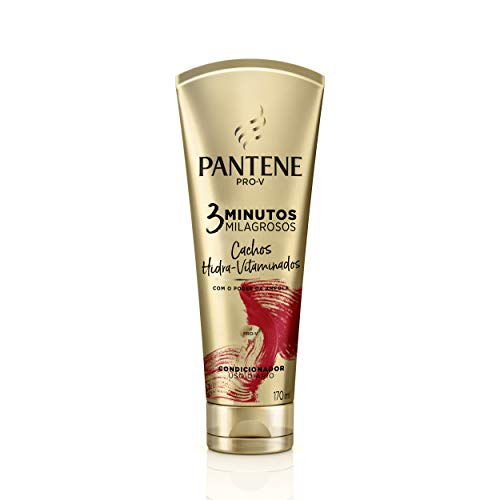 Condicionador Pantene 3 Minutos Milagrosos Cachos Hidra-Vitaminados 170Ml, Pantene