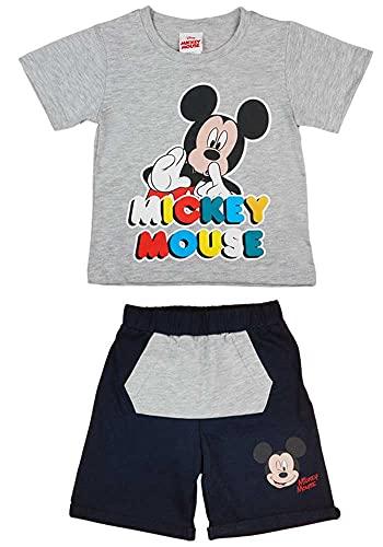Kleines Kleid Mickey Mouse Jungen Zweiteiler Set Farbe Modell 8, Größe 104