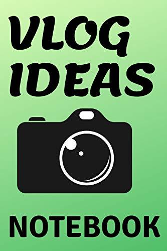 Vlog Ideas Notebook -- for vlogging ideas
