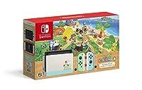 オリジナルデザインのNintendo Switch本体に、Nintendo Switchソフト「あつまれ どうぶつの森」がインストールされた本体セットです 4月上旬入荷予定分は、終了いたしました。
