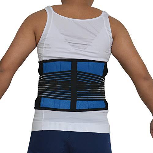 LLZGPZBD Taillesteun verstelbaar van neopreen op de achterkant, steunriem, corrigerende riem, niergordel