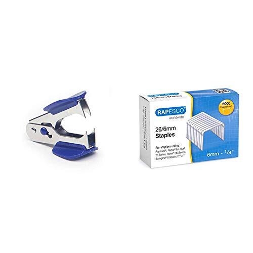 Rapesco SR4SLDA3 Dégrafeur R4 Chrome & Agrafes à...