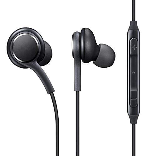 HehiFRlark - Auriculares in-ear estéreo con micrófono para Samsung Galaxy S8 S8Plus