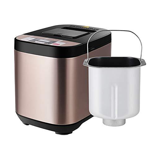 FYLD broodbakmachine 19 programma's roestvrij staal voor yoghurt, glutenvrij brood 13H, 800 g, 580 W
