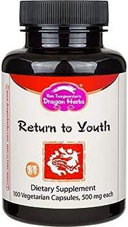 Dragon Herbs Return to Youth ( Huan Shao Dan ) -- 500 mg - 100 Capsules