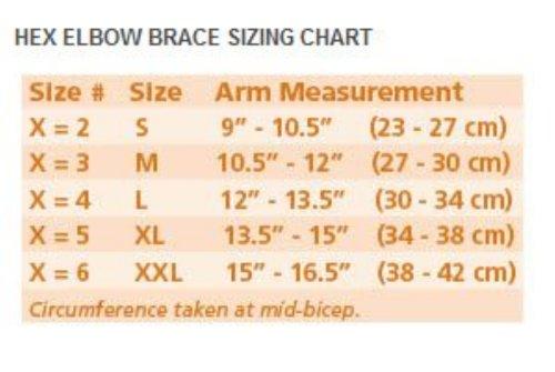 Breg HEX Elbow Brace Medium