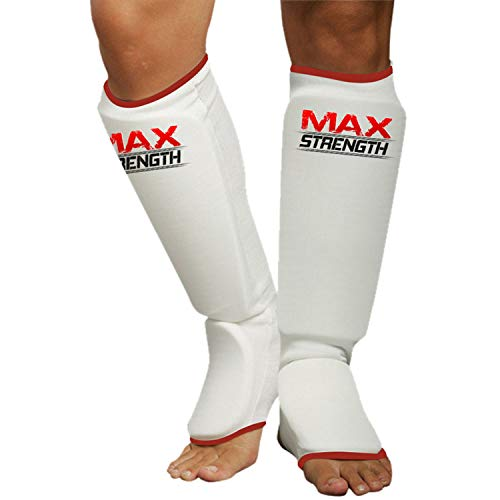 MAXSTRENGTH MMA Schienbeinschoner aus...
