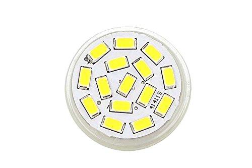 Lámpara Led MR11 3,5W 12 V, 24 V, Color Blanco Cálido