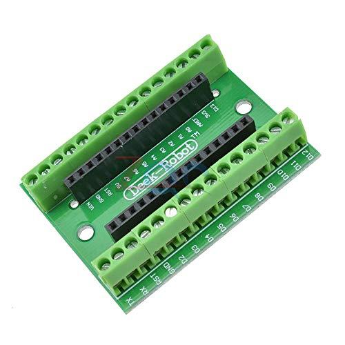 NANO V 3.0 3,0 Controller Terminal Adapter Expansion Board ATMEGA328P NANO IO Shield einfache Verlängerungs Platte für Arduino AVR