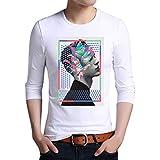 Nuevo Modelo De Los Hombres Camiseta Impresa Moda De Algodó