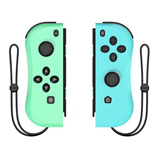 Linkstyle Joypad mit Armband Joy Con Controller Ersatz Kompatibel mit Nintendo Switch L/R Wired/Wireless Switch Fernbedienungen